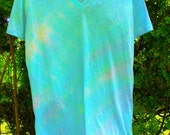 Alluring Rainbows Tye Dye Shirt Womens size Large