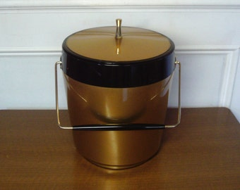 Vintage 1960's  Thermo Serv Ice Bucket
