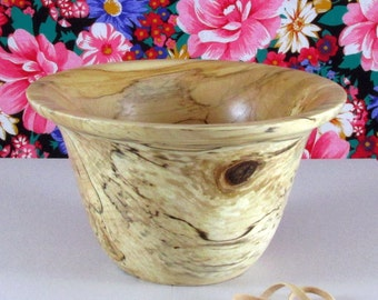 Ambrosia Maple bowl with flared lip