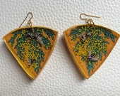 Insect Jungle Horizon Earrings