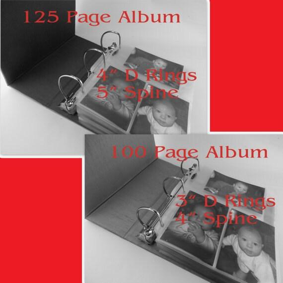 Photo Albums 8x10: Burlap Photo Album Rustic Baby Boy Album 4x6 5x7 8x10 Girl