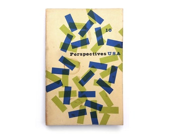 Alvin Lustig & Jerome Kuhl magazine design. Perspectives USA (Issue 10, Winter 1955) published by James Laughlin