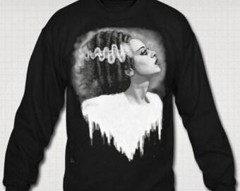 Bride of Frankenstein sweat shirt