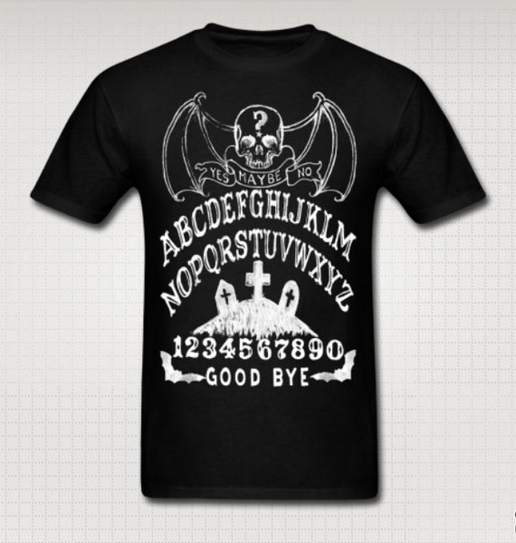 Bat Skull Ouija Tee shirt