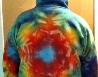 Custom Made Tie Dye Hoodies