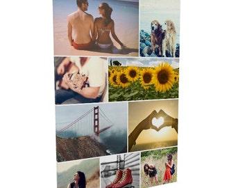 Photography Canvas Print, 32x48, Personalized, Photo Collage, Photo Canvas, Custom, Photo on Canvas, Collage Print, Wall Art, Wall Decor