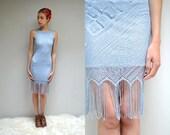 90s Flapper Dress  // Fringe Dress //  THE BONNIE