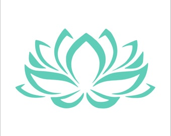 Sale! Lotus Vinyl Decal For Car, Laptop, Other Hard Surfaces