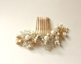 Bridal Hair Comb Delicate Hair comb Style HC06