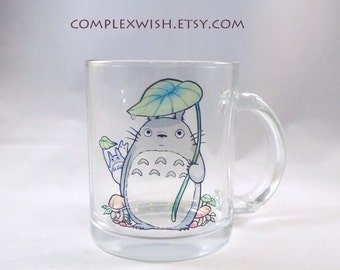 My Neighbor Totoro clear 11oz mug