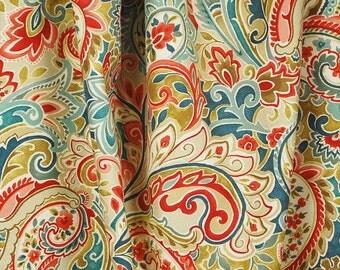 Wonderland Riviera Paisley Floral Fabric