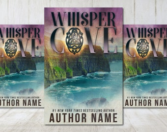 """Premade Digital eBook Book Cover Design """"Whisper Cove"""" Contemporary Literary Fiction Young New Adult Thriller Suspense Paranormal Romance"""