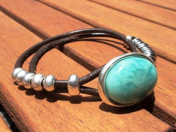 Turquoise bracelet turquoise jewelry plus size bracelets for Plus size jewelry bracelets