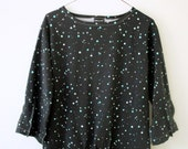 RESERVED FOR ANNA Cosmic Twinkle 3/4 sleeve Top