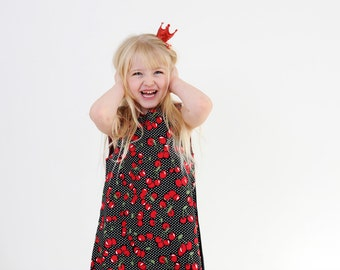 Cherry Delight Pinafore Dress