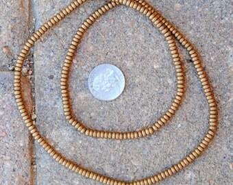 Indian Brass Metal Discs: 2x5mm