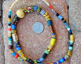 Mixed African Beads: Old & New
