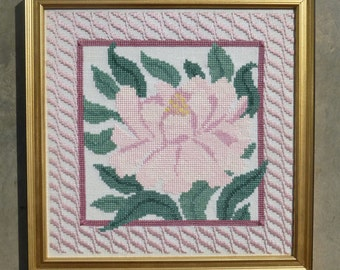 Arts and Crafts Movement flower series-Peony
