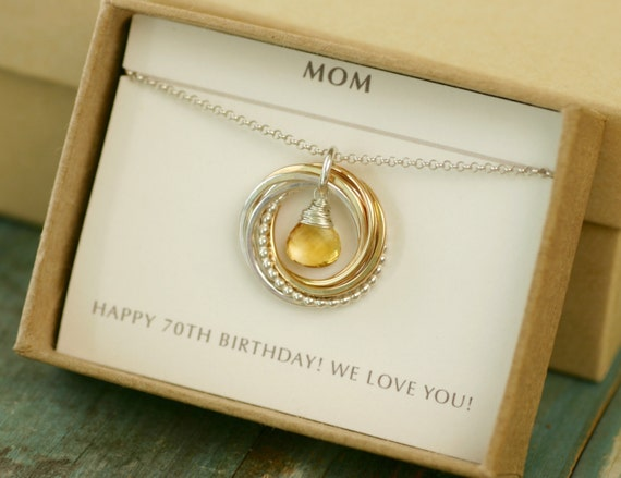 70th Birthday Gift For Mother In Law Grandma Gift For Her