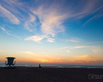 CANVAS: Sunset in California (photograph, various sizes)