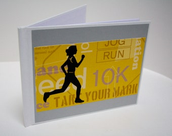 Mini Runner's Race Bib Book - Fits up to 28 SMALL bibs
