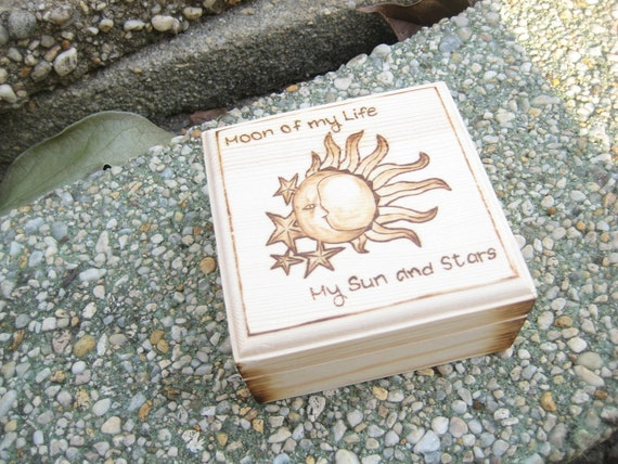 Ring Box Game Of Thrones Wedding My Sun And Stars By Rivdomart