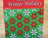 Relax in Color Winter Holiday  Coloring Book for Adults and Big Kids Coloring Pages
