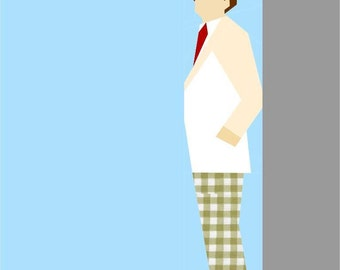 Doctor Who Paper Pieced Quilt Pattern PDF Download - The Seventh Doctor - Sylvester McCoy
