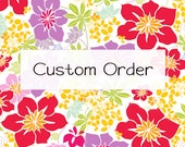 Custom Tree Skirt for Sydney