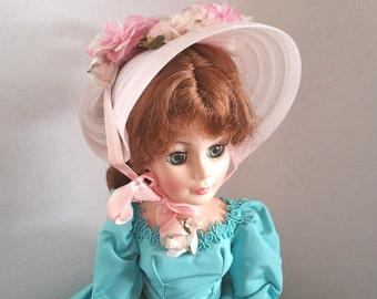 "MADAME ALEXANDER AGATHA, 21"" Vinyl, Swing Tag and Box, 1981, Vintage Collectible Doll"