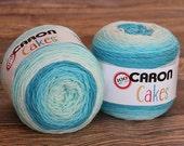 Caron Cakes Yarn - Pastel Faerie Cake - Wool Yarn - Self-striping yarn - Michael's exclusive yarn - Skein of Caron Cake Yarn