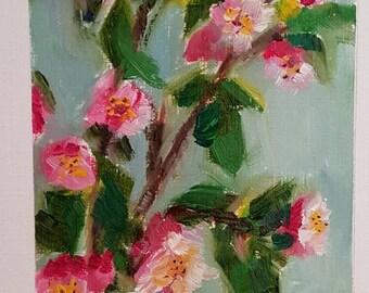 Spring blossoms 4. Original painting.