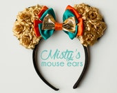 Inspired Merida from Brave Rose Mouse Ears