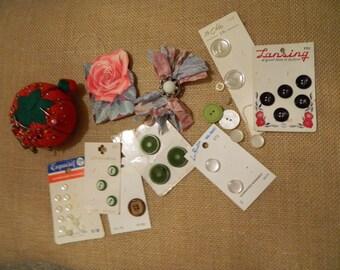 Vintage Sewing Notions Kit #5