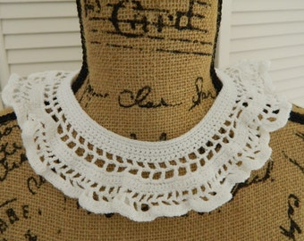 Vintage Crocheted Collar #4