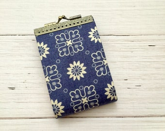 Credit Card Holder, Credit Card Wallet, Credit Card Organizer, Card Case, Blue