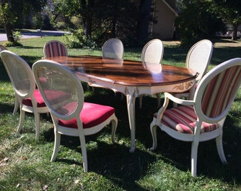 French provincial dining table-ready for new design