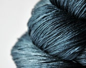 Dead Marshes - Silk Lace Yarn - knotty skein