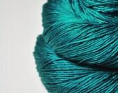 Diving into the Caribbean sea  - Silk Fingering Yarn