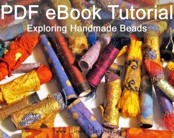 Exploring Handmade Beads - PDF Sewing Pattern - Instant Download