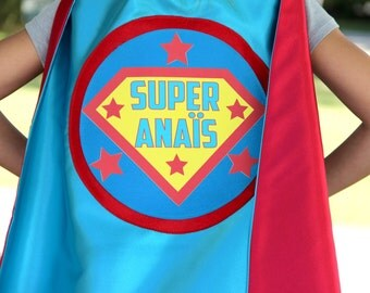 Ships worldwide - Custom Shield Cape with FULL NAME - Personalized Superhero Cape - Superhero Party - Fast Shipping -Halloween