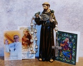 Unbreakable Pope Francis and St. Francis of Assisi One-Decade Catholic  Rosary - Patron Saint of Animals, Ecologists, Families and Peace