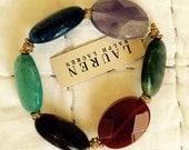 Vintage Ralph Lauren bracelet with stone beads