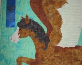 Horsefeathers Applique Quilt