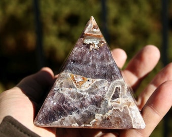 Amethyst Pyramid High Quality Stone
