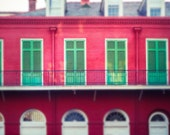 New Orleans Photography,French Quarter Art, Travel Photo, Wall Decor, Architecture Print, Louisiana, Abstract Cityscape, Urban Art Photo