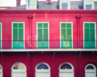 New Orleans Photography,French Quarter Art, Travel Photo, Wall Decor, Architecture Print, Louisiana, Abstract Cityscape, Urban Art Photo