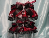 University of South Carolina Gamecocks Wedding Garter Set