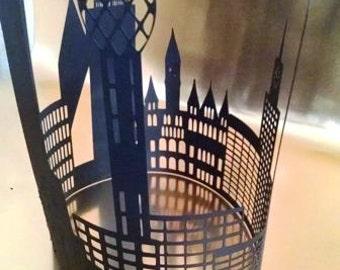 DIY Dallas skyline extra large centerpiece / silhouette