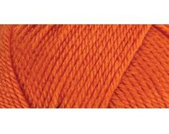 297896 E728-4422  Red Heart Soft Yarn - Tangerine